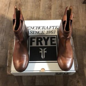 Frye Paige short riding boots